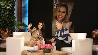 Ellen Keeps Up with Kourtney Kardashian