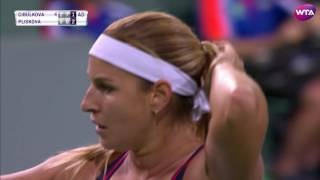 2017 BNP Paribas Open Third Round | Cibulkova vs Kr  Pliskova | WTA Highlights