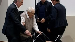 93-year-old Nazi guard on trial for his role at Auschwitz