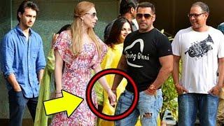 Salman Khan Confirms MARRIAGE With Girlfriend Iulia Vantur? Seen With Family On Rakhi