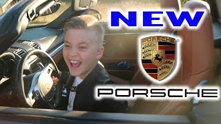 9 YEAR OLD KID BUYS PORSCHE?