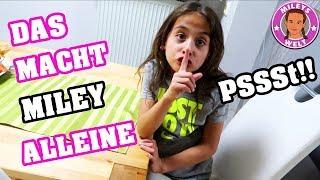 DAS MACHT MILEY GANZ ALLEINE ohne ELTERN! | MILEYS WELT