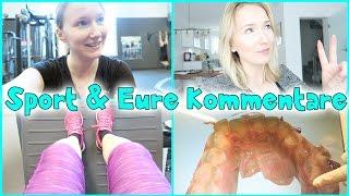 Meine REAKTION auf EURE Kommentare + Meine Sport Routine - Kathi2go