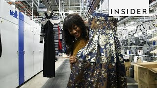 Behind-the-Scenes of the Rent the Runway Warehouse