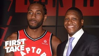 Will Kawhi stay with the Raptors now that Masai Ujiri is a lock?   First Take