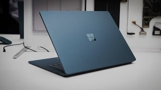 Surface Laptop:  First Look (2017)