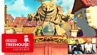 Yooka-Laylee and the Impossible Lair Gameplay - Nintendo Treehouse: Live | E3 2019