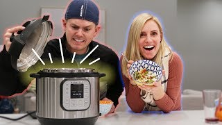 COUPLE'S INSTANT POT RECIPE! Fail Or Success?