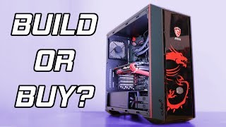 Should You Build Or Buy A Gaming PC? 🤔