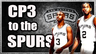 Why Chris Paul NEEDS to Sign with the Spurs