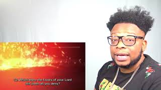CATHOLIC LISTENING TO THE QURAN FOR THE FIRST TIME!!!