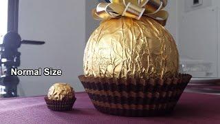 GIANT Christmas Ferrero Rocher!!!