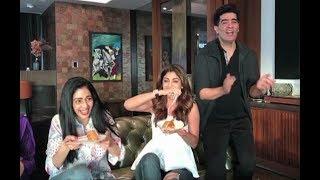 Karan Johar Sunday Binge With Sridevi, Shilpa Shetty - Watch Video