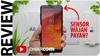 Review Samsung Galaxy A8 (2018), Sensor Wajah Payah?