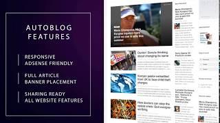 Complete Automated Website - Autoblog