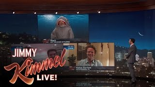 Jimmy Kimmel Talks to Teenage Shark Bite Victim
