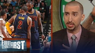 Nick Wright reacts to Kyrie apologizing to LeBron, asked for advice | NBA | FIRST THINGS FIRST