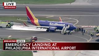 Passenger recalls Southwest Airlines emergency landing
