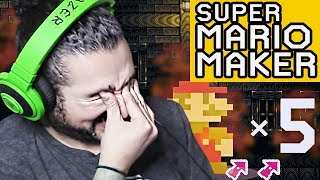 WORST LUCK WORST RUN SUPER EXPERT - SUPER MARIO MAKER