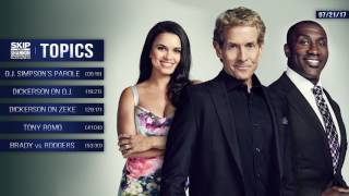 UNDISPUTED Audio Podcast (7.21.17) with Skip Bayless, Shannon Sharpe, Joy Taylor | UNDISPUTED