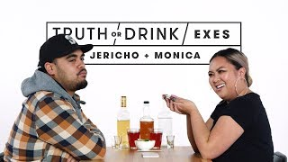 Exes Play Truth or Drink (Jericho & Monica) | Truth or Drink | Cut