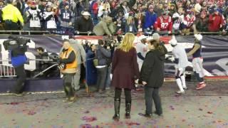Confetti celebration 2017 AFC champs!!!