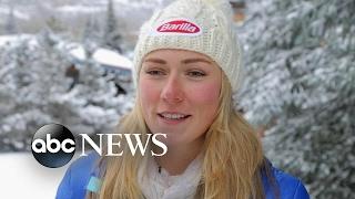 US star skier Mikaela Shiffrin