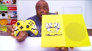 XBOX SENT ME THIS CUPHEAD CONSOLE! [NOT IN STORES!]