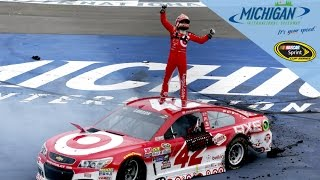 Larson earns first career NSCS victory