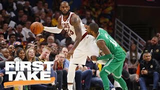LeBron James and Cavaliers need to be concerned about Celtics | First Take | ESPN
