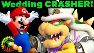 Mario CRASHES Bowser