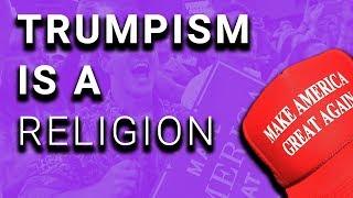Lunatic Trump Voter Would Believe Trump Over Jesus
