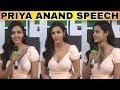 Priya Anand Speech   LKG Movie Press Mee...mp3