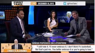 ESPN First Take    Spurs