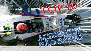 TOP 10 Acidentes NÃO FATAIS | Desvendando a F1 S04E14
