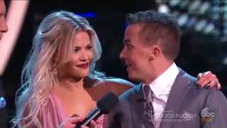 (HD) Frankie Muniz and Witney Carson Foxtrot - Dancing With the Stars Premiere