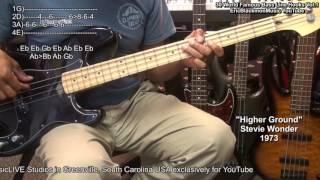 30 Of MY Favorite Famous Bass Line Hooks & Riffs + TABS Vol.1 EricBlackmonMusic