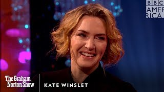 Kate Winslet Had to Direct Her Own Love Scene with Idris Elba - The Graham Norton Show
