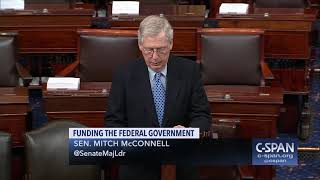 Word for Word: Senator McConnell on Government Funding Negotiations (C-SPAN)
