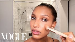 Victoria's Secret Angel Jasmine Tookes Teaches a Master Class in Glowing Skin | Vogue