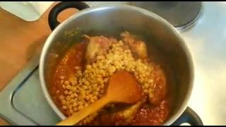 Chicken or Chana Daal (Chicken and Lentils)