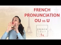 French Pronunciation OU vs Ump3