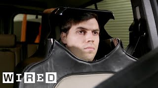 Man Dresses as a Car Seat in the Name of Self-Driving Science | WIRED