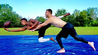 EXPOSED HIM ON A SLIP N SLIDE! (DB vs. WR 1 ON 1's)