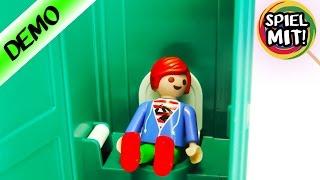 PLAYMOBIL JULIANS EIGENES DIXI KLO! Toilette für die Baustelle! Falls man mal GROß muss!