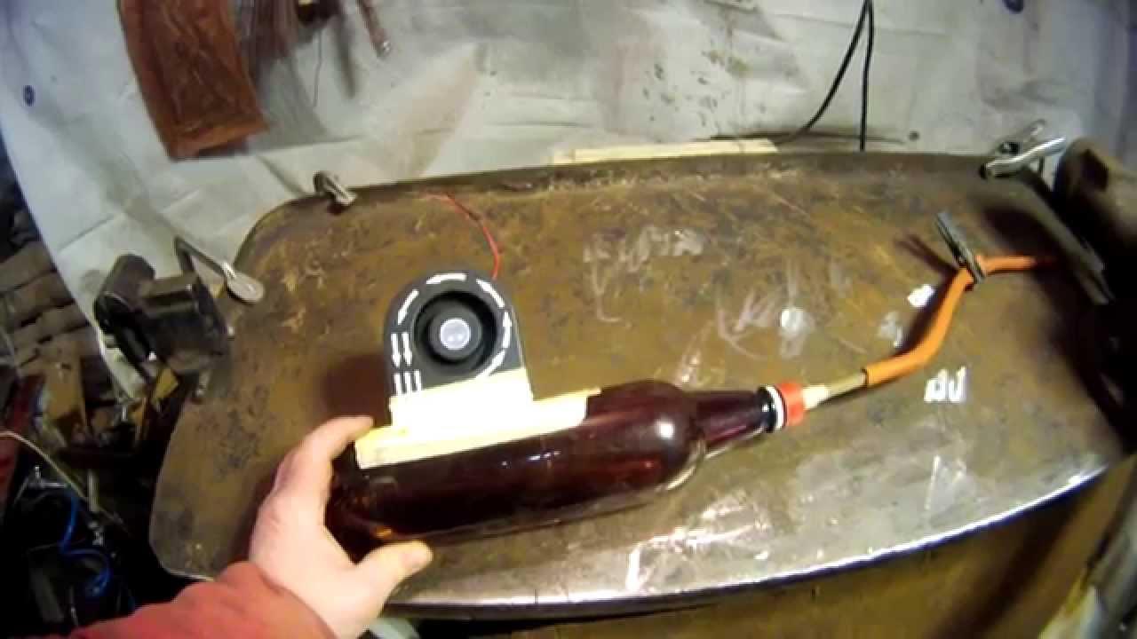 Дымогенератор с компрессором своими руками