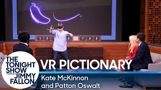 Virtual Reality Pictionary with Kate McKinnon and Patton Oswalt