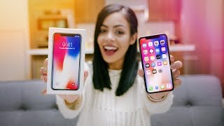 Apple iPhone X Unboxing & Reaction!