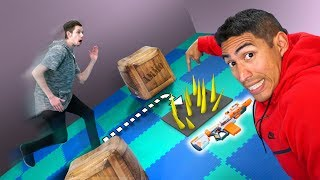 NERF Pick Your Path | Traps & Arrows
