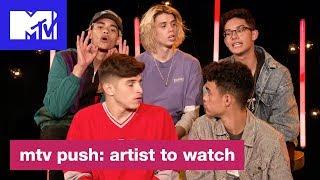 PRETTYMUCH Squad Up w/ Travis Scott, Trippie Redd & Nav | MTV Push: Artist to Watch